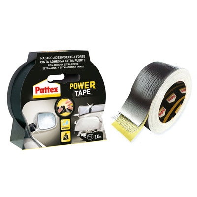 ADESIVO UNIVERSALE PATTEX POWER TAPE ULTRARESISTENTE 10 MT.NERO
