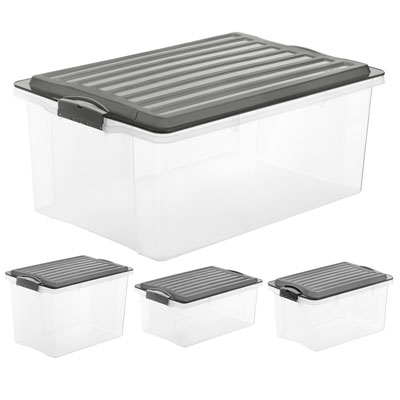 CONTENITORE IN PPL STACKBOX CM. 39,5 X 27,5 X 18 CAPACITA' 13 LITRI