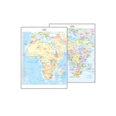 Cartina Italia Politica In Vendita.Vendita Cancelleria Articoli Per Ufficio Fornitura Mobili E Informatica Cartina Geografica Fisico Politica 29 7x42 Africa